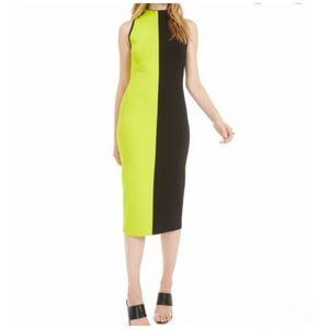 NWOT BarIII Colorblock Sweater Dress